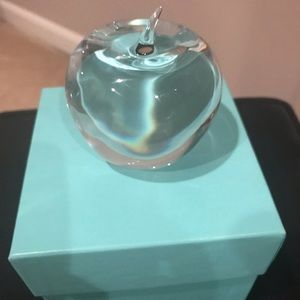 TIFFANY & CO. Apple Paperweight NWOT
